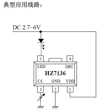 使用一个外接电阻,电流可从10ma to 400ma可调,通过外接nmos 或 npn